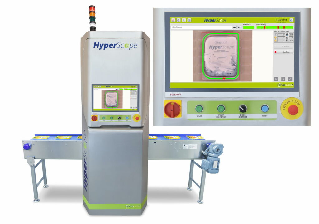 HyperScope- Hyperspectral seal inspection of plastic rigid packages