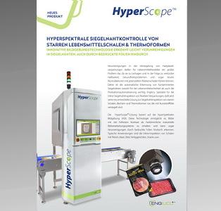 Hyperspektrale Siegelnahtkontrolle von starren Lebensmittelschalen aus Kunststoff & Thermoformen