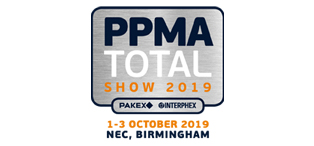 Meet us at the PPMA Total Show at the NEC, Birmingham, Oct 1-3, 2019