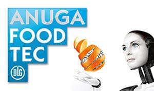 Anuga-FoodTec-Messe in Köln, vom 20. bis 23. März 2018