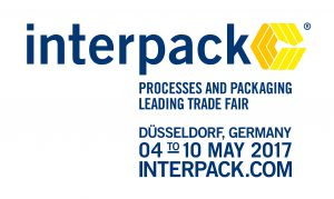 Meet us at Interpack, May 4-10, 2017