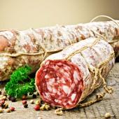 Salami packaging